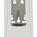 Label made with CuVerro® for soap dispenser